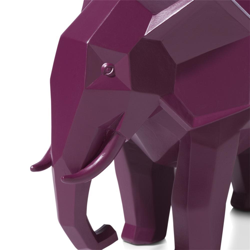 Objet géométrique élephant rose