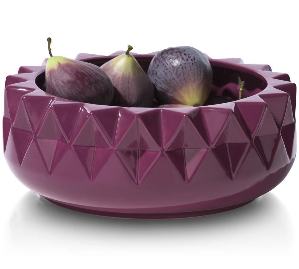 Saladier violet