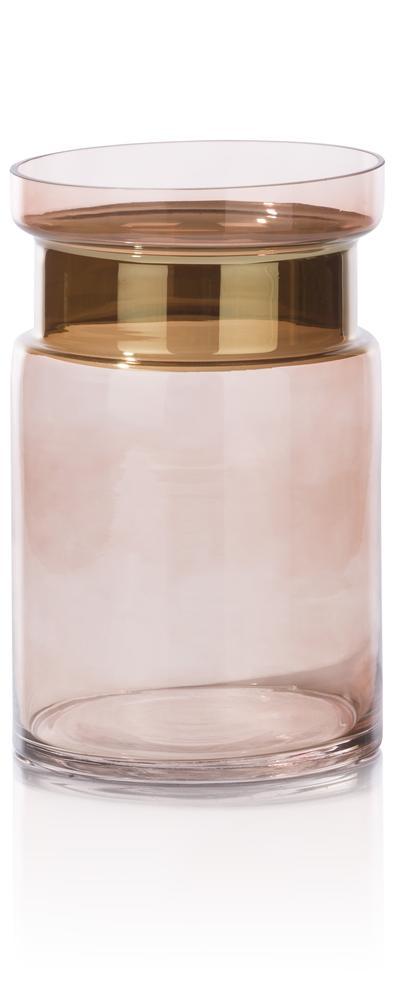 Vase bicolore beige