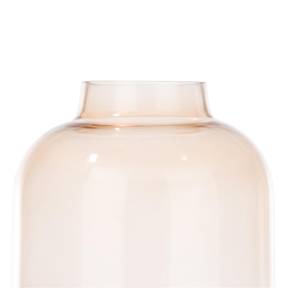 Vase bicolore beige gold