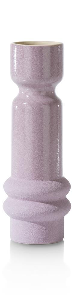 Vase violet en céramique
