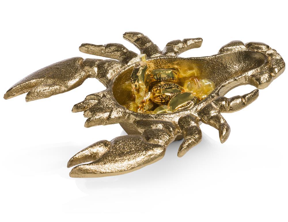 Vide-poches homard gold