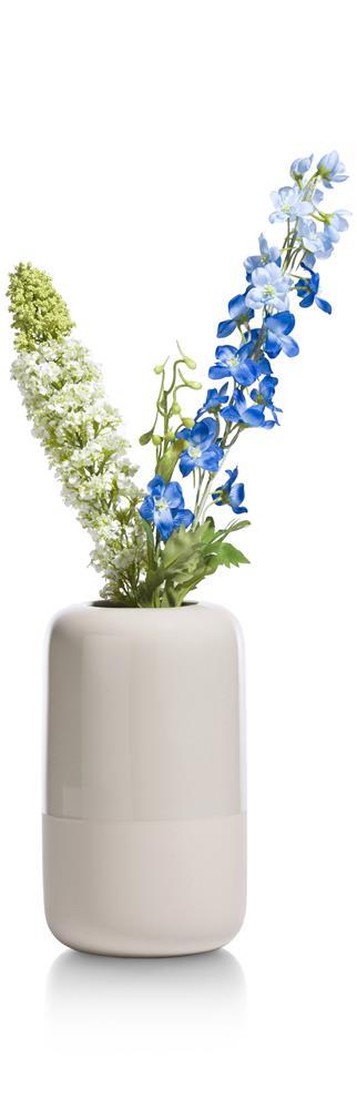 Vase en céramique beige