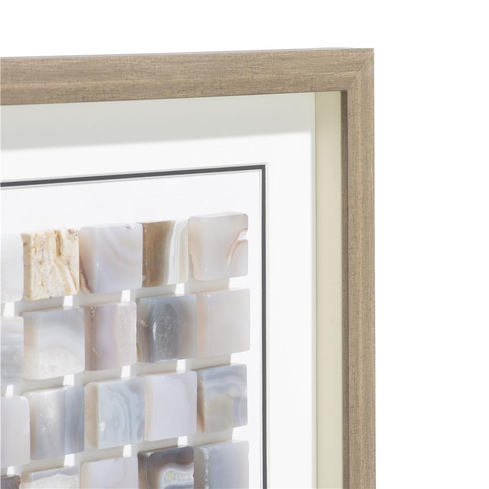 Tableau carrés d'agate