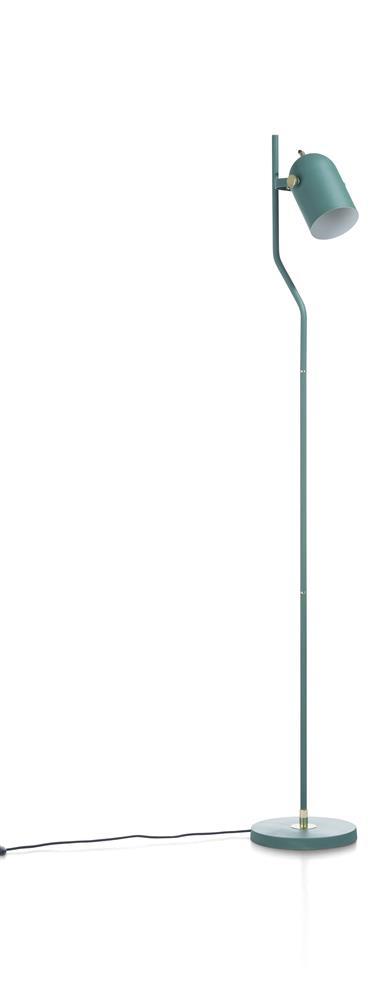 Lampe sur pied vert menthe minimaliste