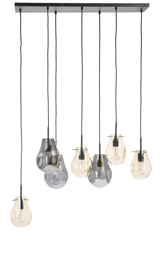 Suspension luminaire multiples ampoules