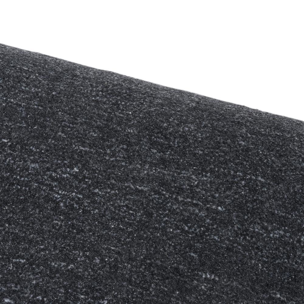 Tapis maxi rectangulaire gris anthracite