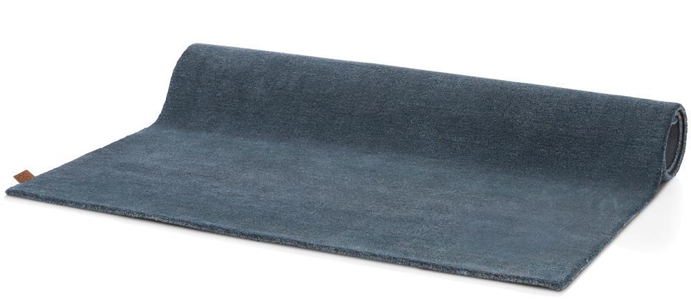 Tapis maxi rectangulaire bleu