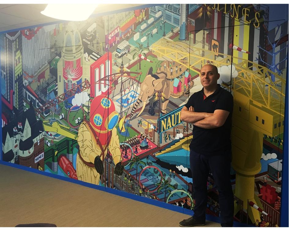 Artiste Franck Drion Nantes PixelArt