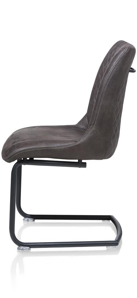 Chaise couleur anthracite