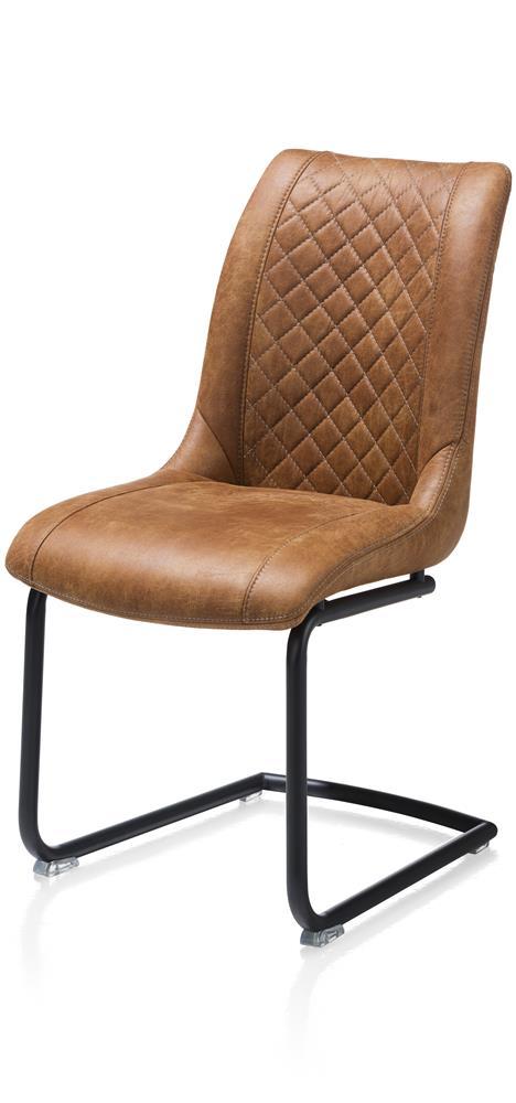Chaise couleur cognac