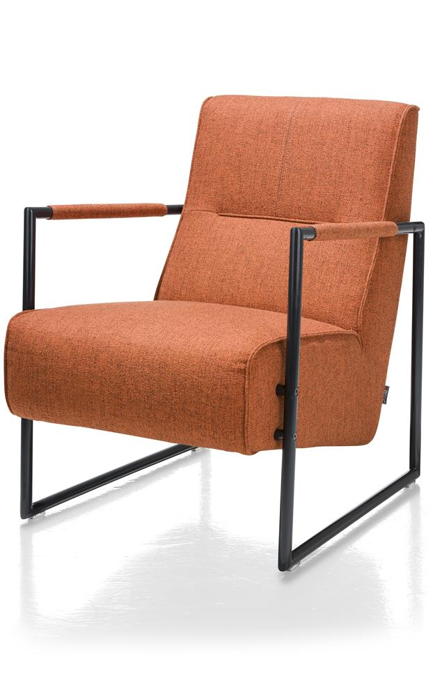 Fauteuil design orange