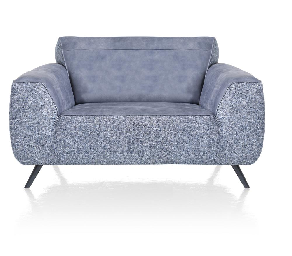 Canapé 1,5 place loveseat bleu