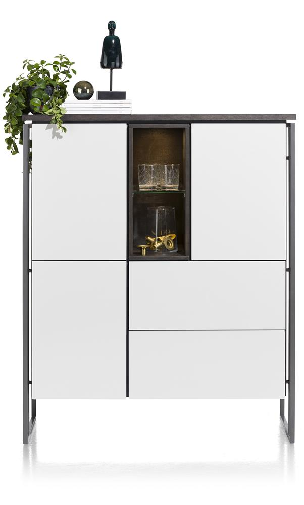 Buffet haut design blanc