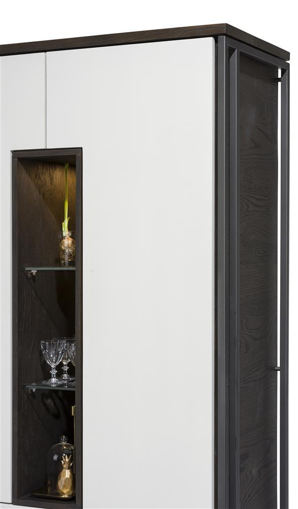 Armoire design noire et blanche