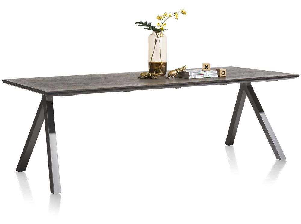 Table de repas design noire