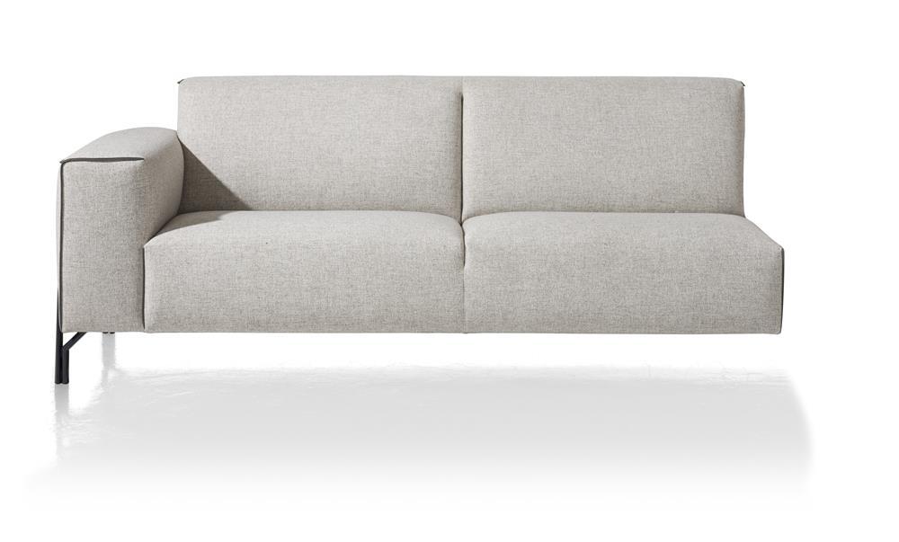 Canapé d'angle élément 3 places avec accoudoir