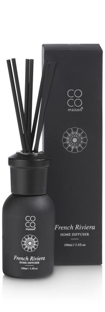 Diffuseur de parfum à tiges noir