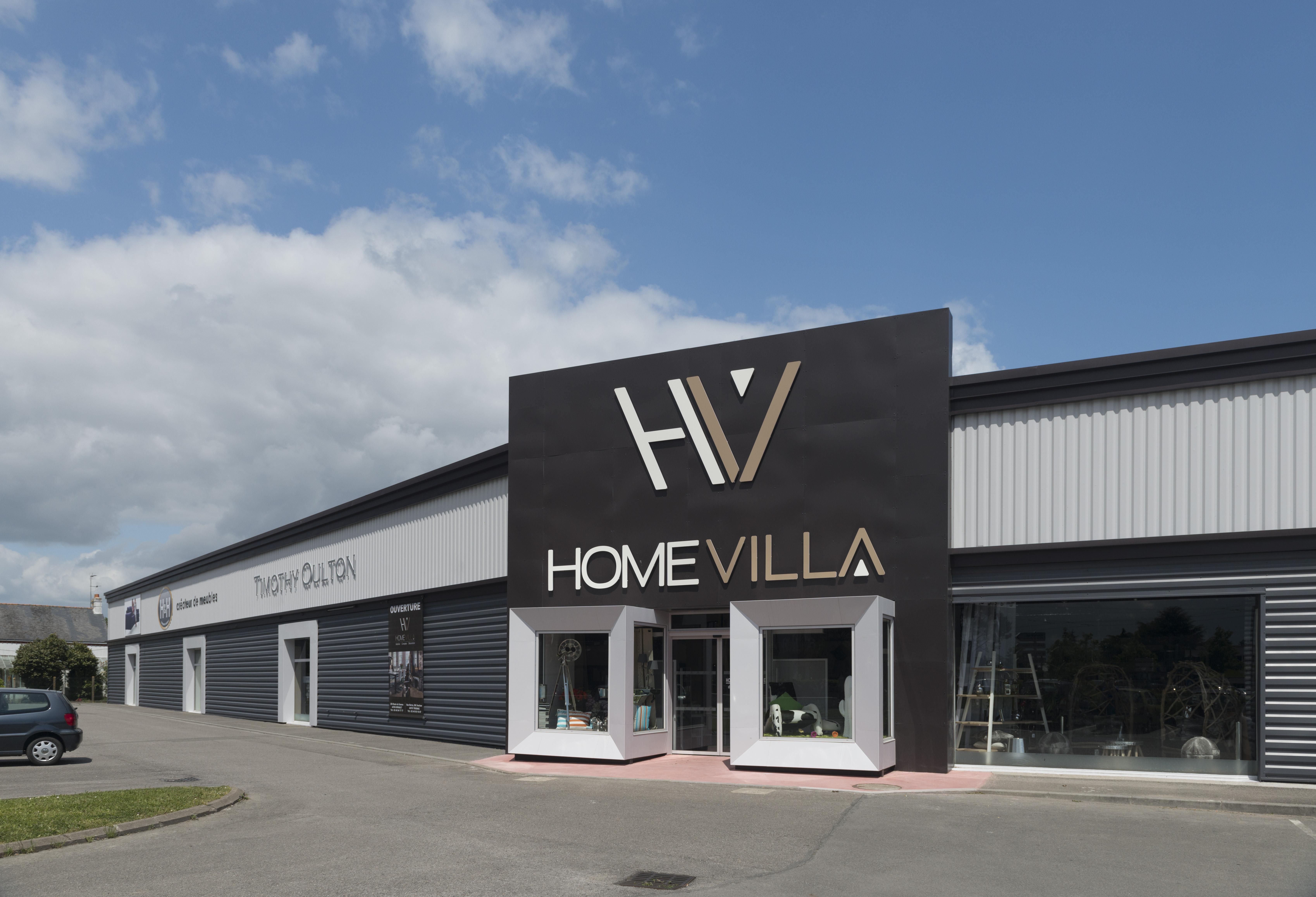 Devanture magasin Home Villa Orvault
