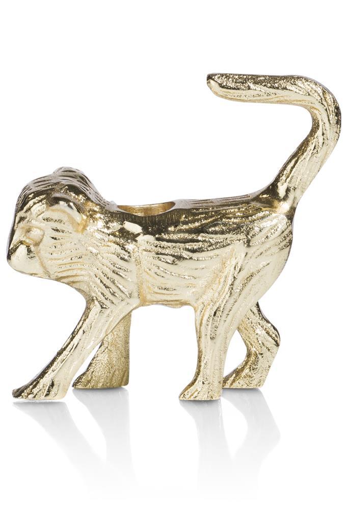 Chandelier singe doré