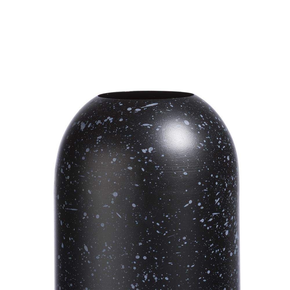 Vase haut et moderne couleur noire