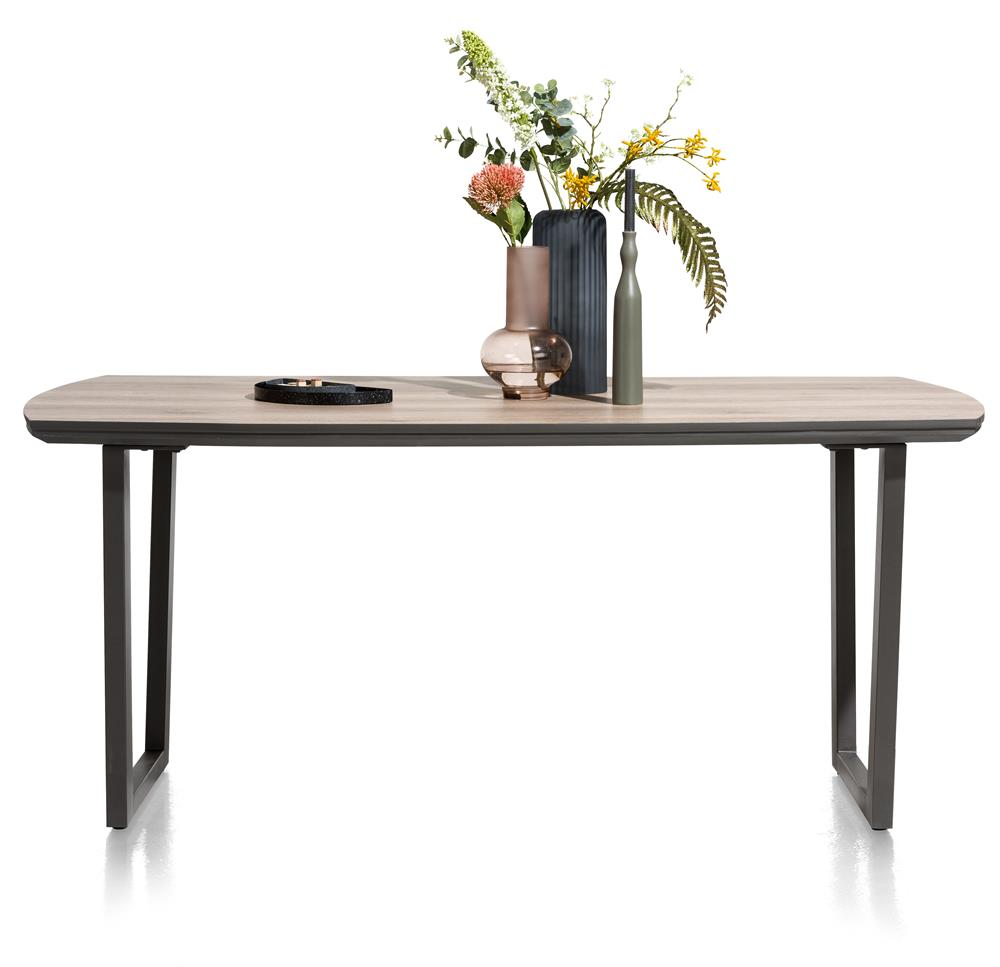 table moderne style bois et métal