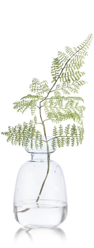 Vase coloré en verre couleur verte