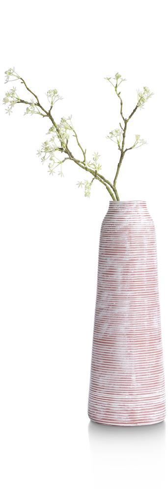 Vase haut tendance aspect brut