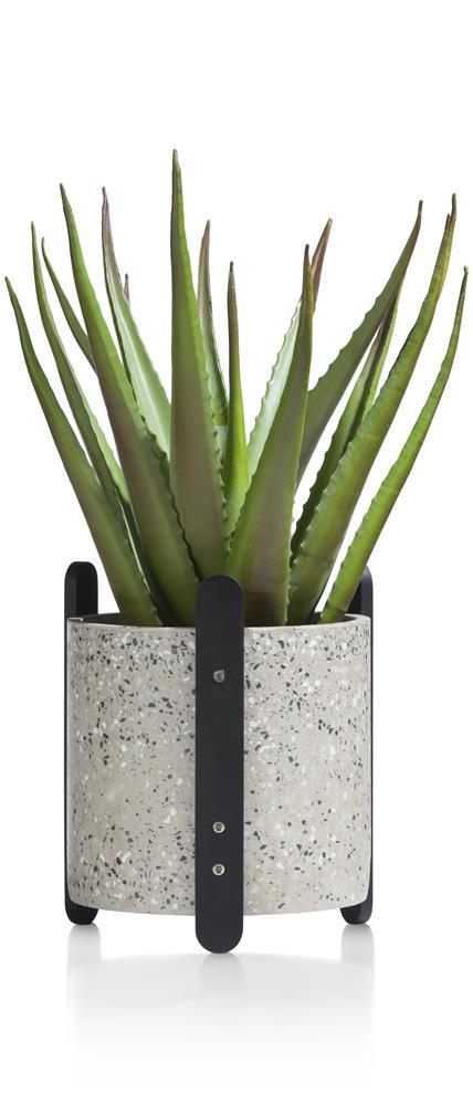 Pot de fleur moderne en béton
