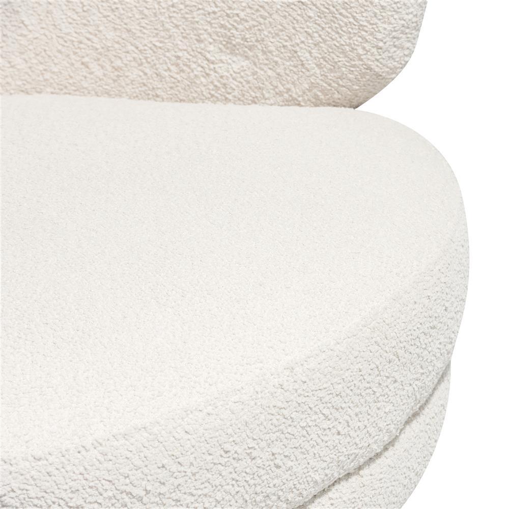 Fauteuil cosy et tendance couleur crème