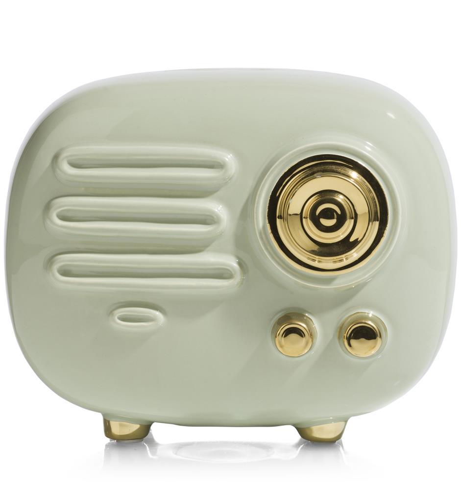 Tirelire tendance représentant une radio