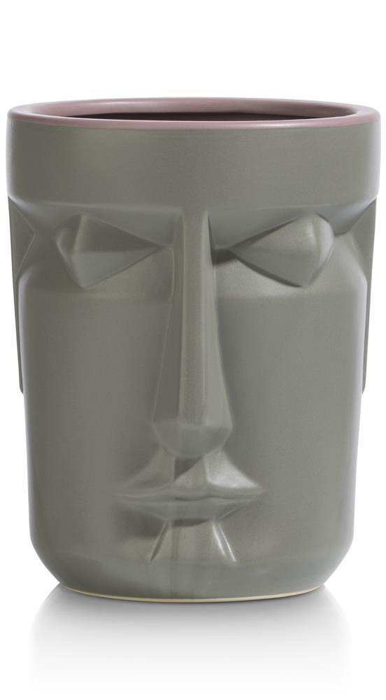 Pied de lampe marbre noir