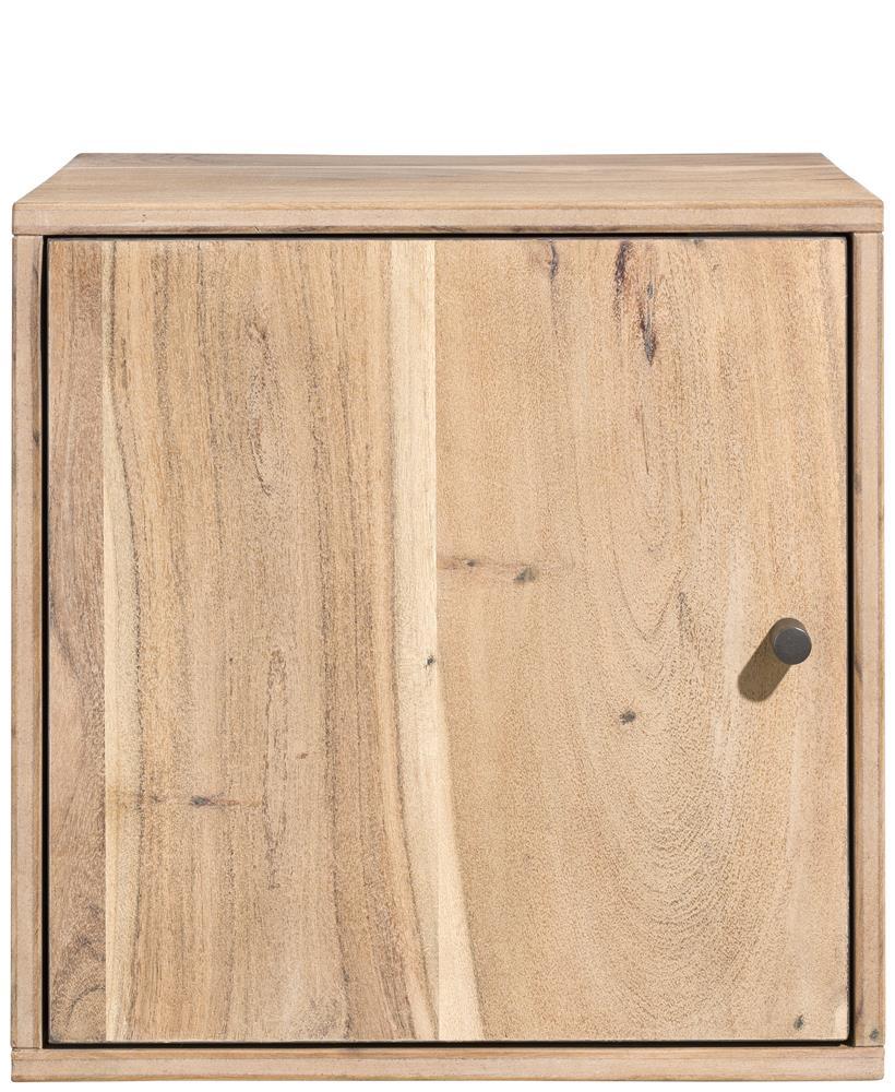 Box étagère avec porte en bois de kikar