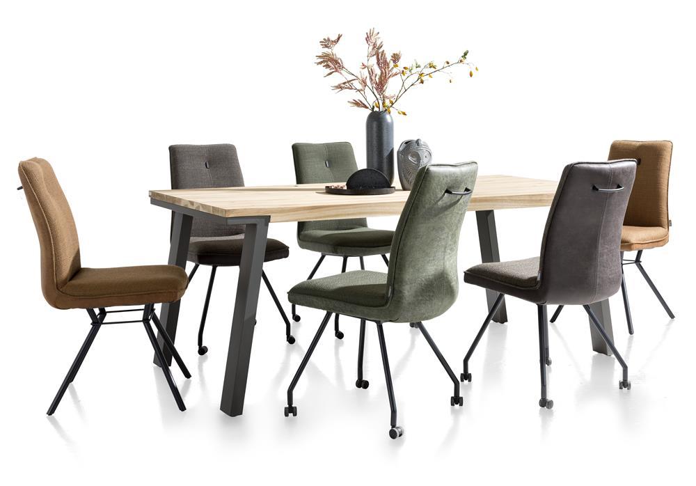 Ensemble chaises et table salle à manger style scandinave