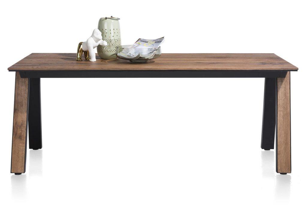 Table à manger design en bois de chêne plaqué