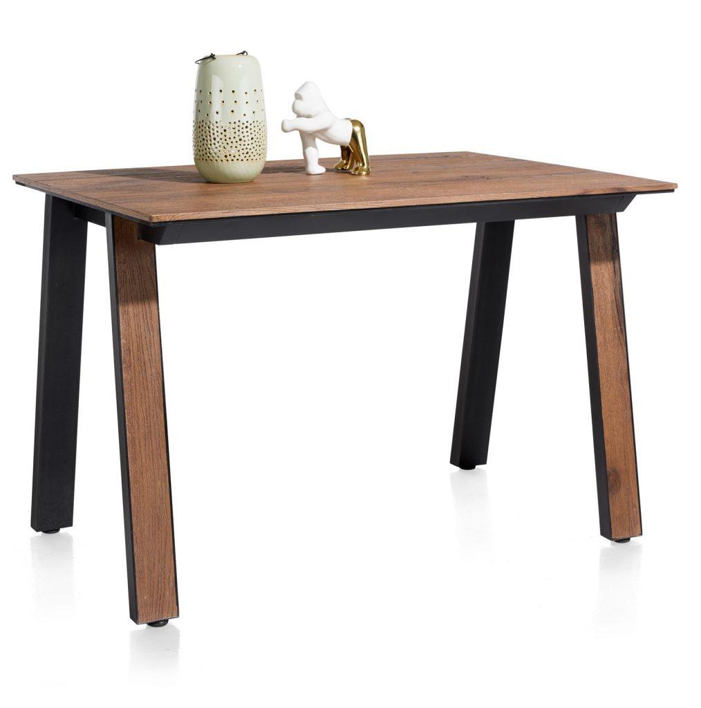 Table de bar design en bois de chêne plaqué