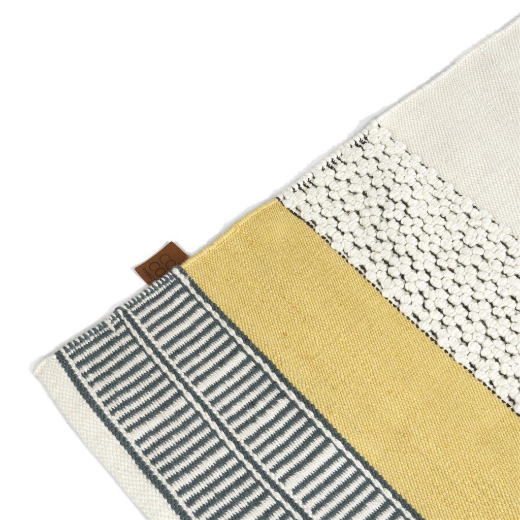 Tapis rectangulaire pour extérieur ou intérieur au style contemporain