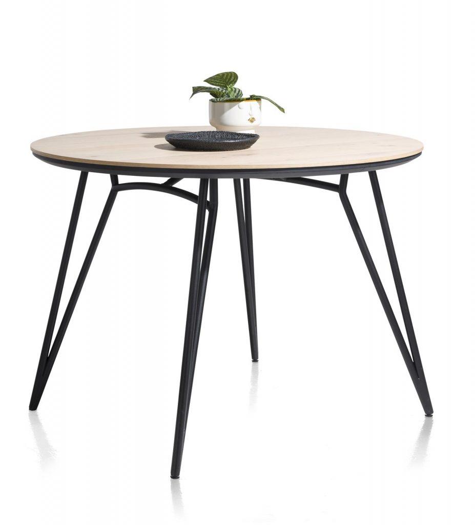 Table de bar ronde scandinave piétement design