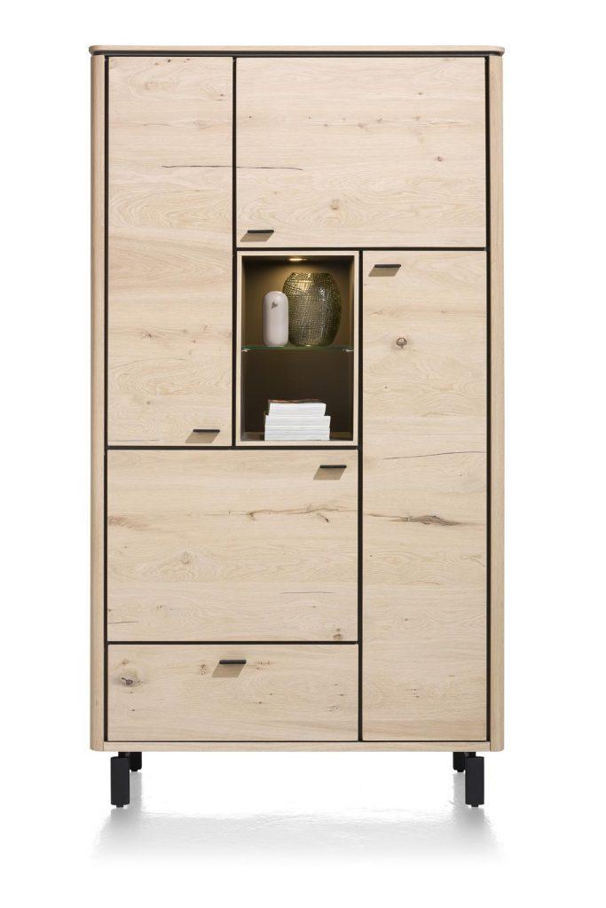 Armoire moderne placage bois de chêne clair