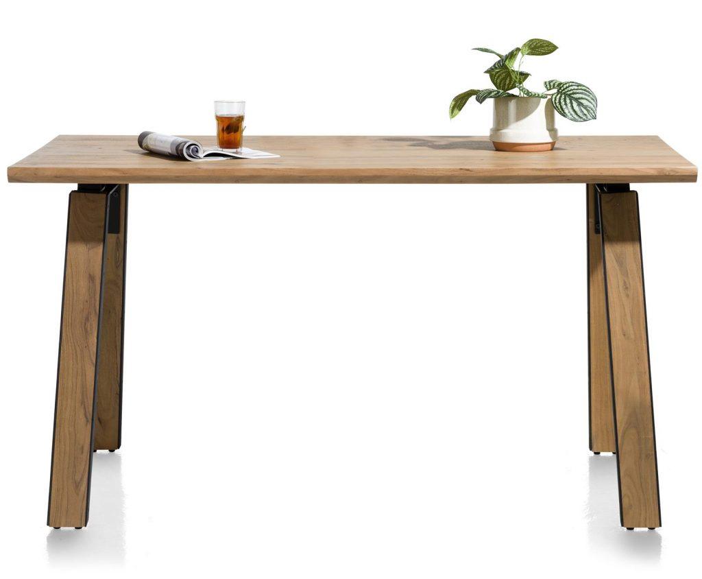 Table de bar industrielle en bois de kikar massif