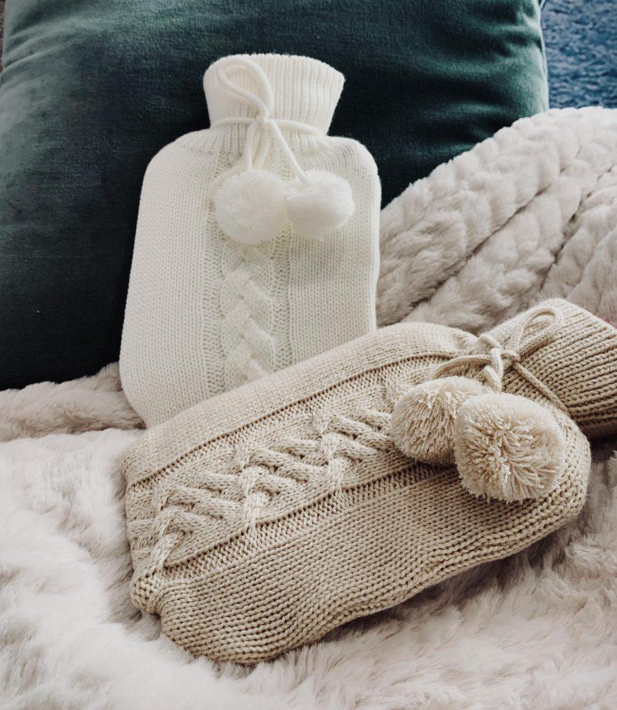 Bouillottes en laine