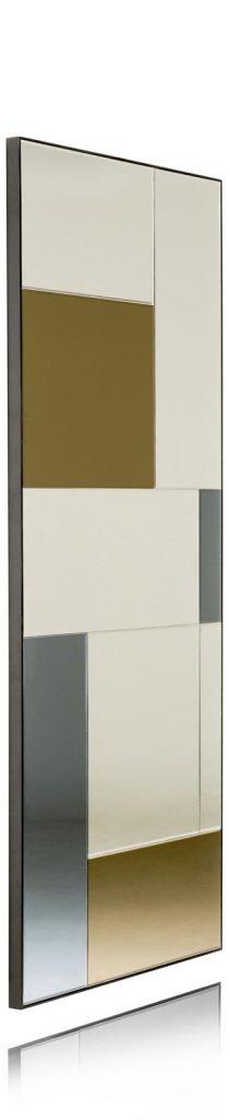 Miroir rectangulaire géométrique et design