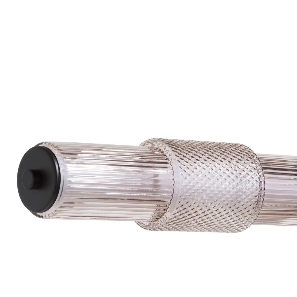 Suspension cylindrique au style moderne et industriel