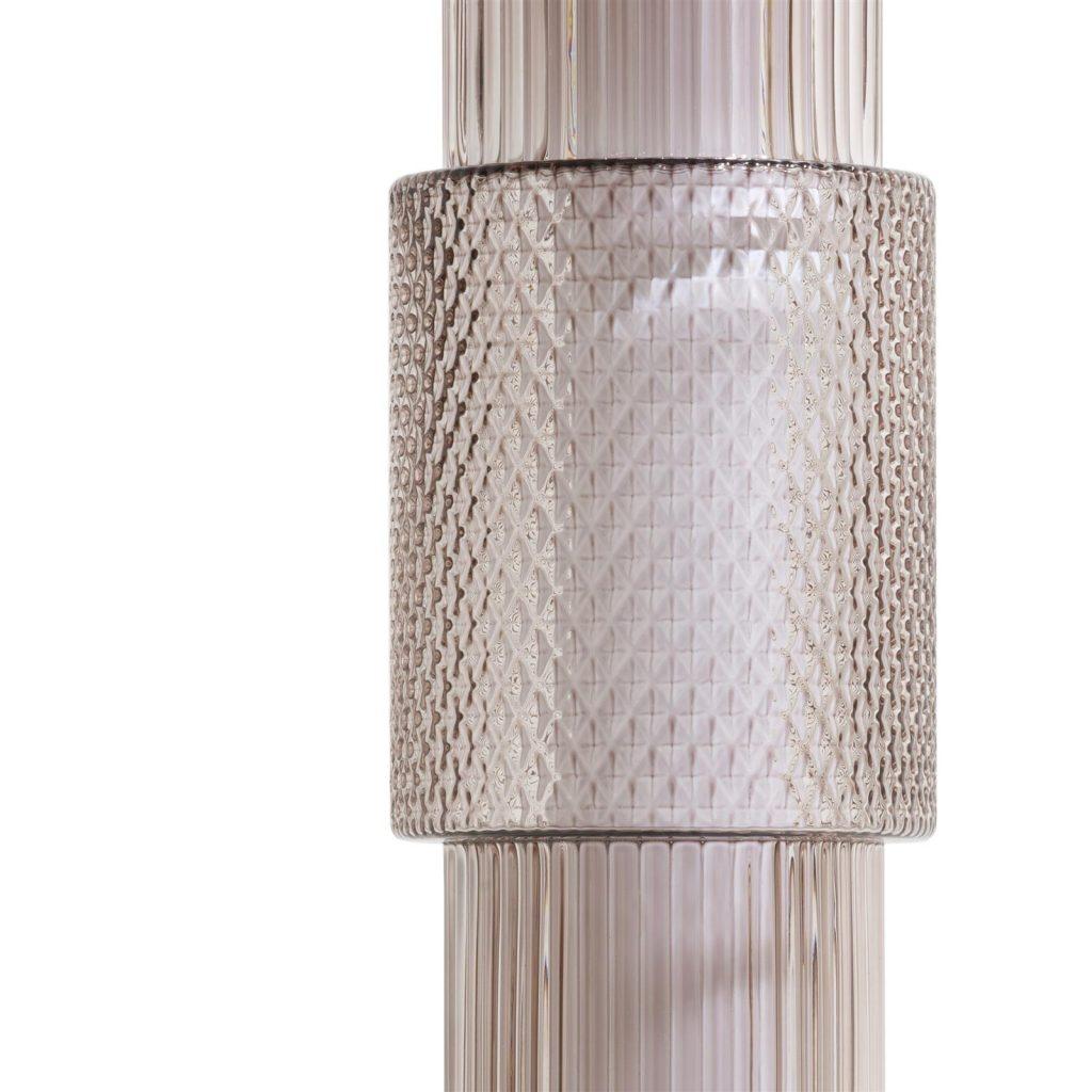 Lampadaire cylindrique hauteur ajustable au plafond