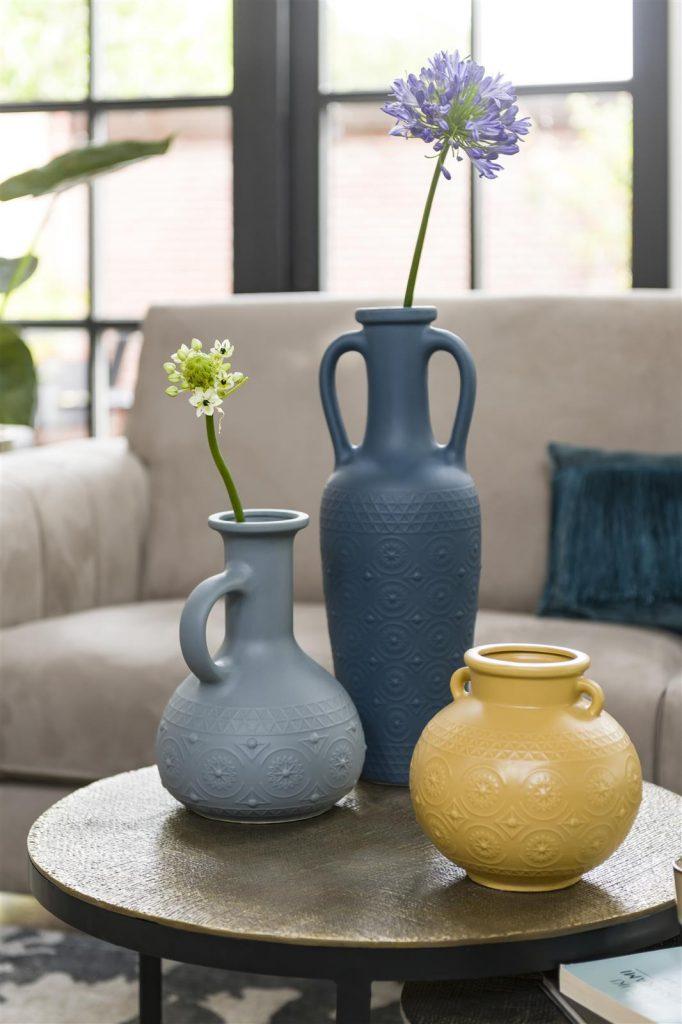 Décoration vases en céramique style jarre antique