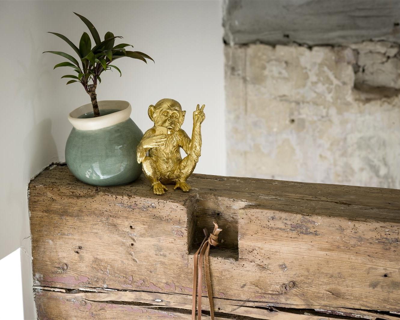 Tendance déco 2021 vase et figurine monkey