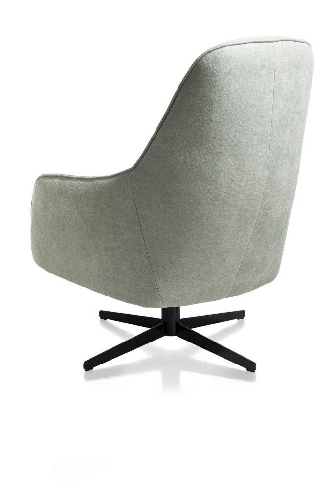Fauteuil contemporain confortable et pivotant en cuir