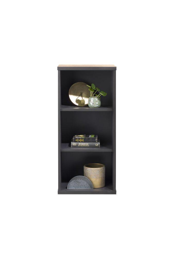 Etagère 3 niches en bois style industriel et moderne