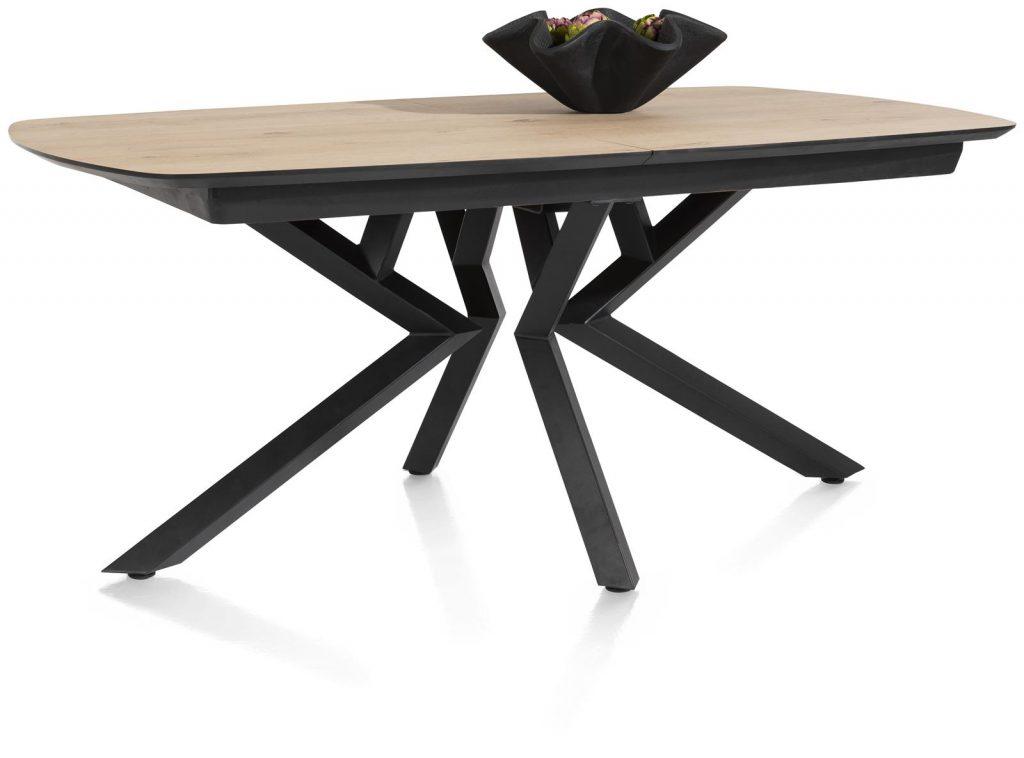 Table à rallonge design plateau bois naturel