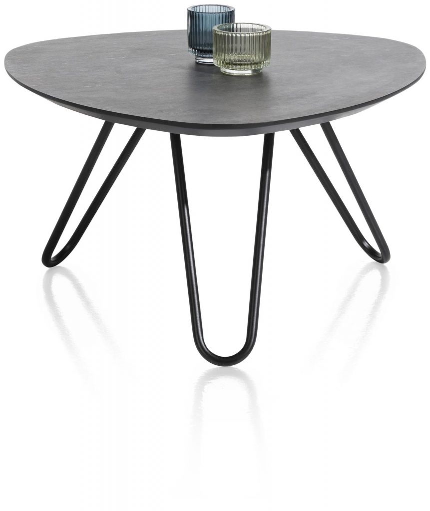 Table basse scandinave et contemporaine couleur anthracite